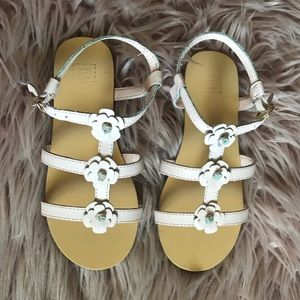 Janie and jack pink girls sandals